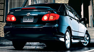 Toyota corolla 2006 model specifications