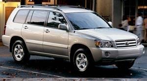 Toyota Highlander 4wd V6