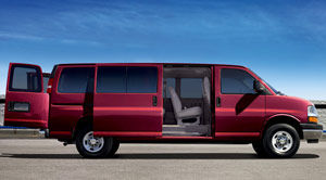 chevrolet express LS Extended