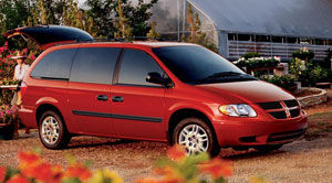Dodge grand caravan height