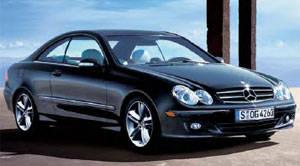 Mercedes clk 2007