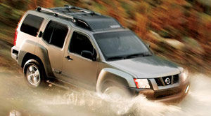 nissan xterra Off Road
