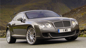bentley continental Speed