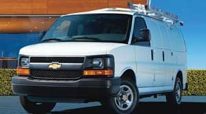 chevrolet express Extended