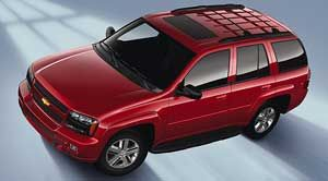 chevrolet trailblazer LT1