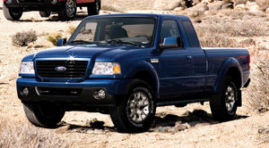 ford ranger 2004 weight
