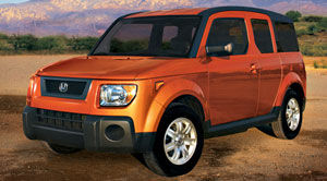 honda element EX TI
