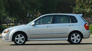 2008 kia spectra 5 tire size