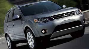 Mitsubishi outlander specs