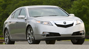 acura tl SH-AWD Technology
