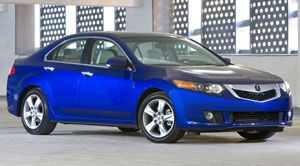 acura tsx Technology