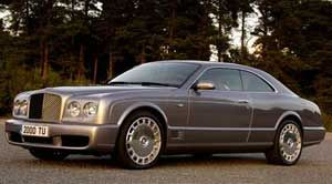 bentley brooklands Base