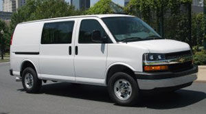 chevrolet express AWD