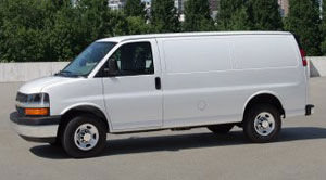 chevrolet express Allongé