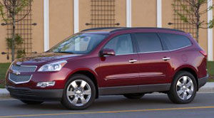chevrolet traverse 1LT