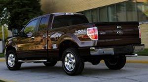 ford f-150 STX Ailes saillantes