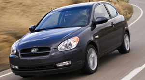 Hyundai accent 09