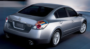 Nissan altima 2009 specs