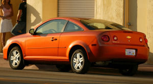chevrolet cobalt LT Team Canada Edition