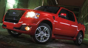 2008 ford sport trac adrenalin tire size