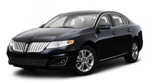2010 lincoln continental curb weight