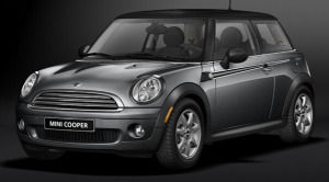mini cooper Earl Grey Edition