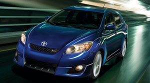 matrix5dr xrs - 2010 Toyota Matrix Xrs At