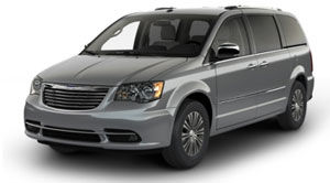 chrysler town-country Touring avec cuir