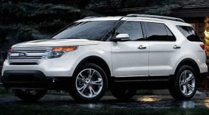 ford explorer Limited V6 FWD