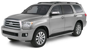 toyota sequoia Limited V8 5.7L