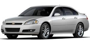 2008 chevy impala weight capacity