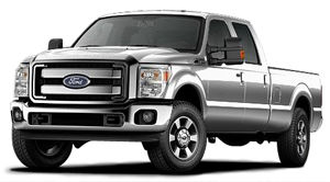 ford f-350 Ensemble chromé King Ranch
