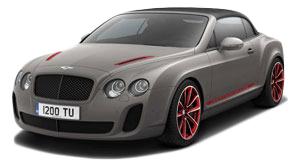 bentley continental Décapotable ISR