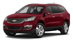 chevrolet traverse AWD 2LT