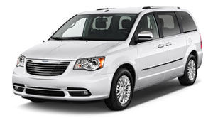 2013 chrysler town and country curb weight