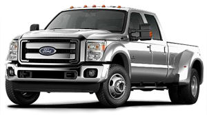 ford f-450 Super Duty 4x4 Platine