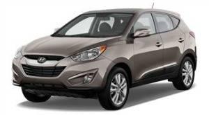 Hyundai tucson weight