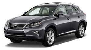 vehicle nhtsa awd suv lexus