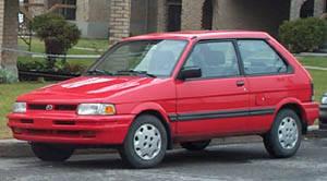 1991 subaru justy specs