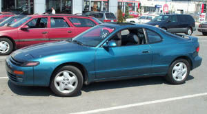 Attractive Technical Specifications: 1993 Toyota Celica GT S Lifback
