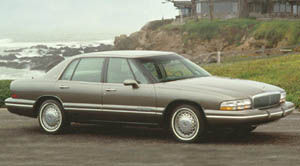 1993 buick park avenue ultra supercharged specs