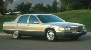 cadillac fleetwood Base