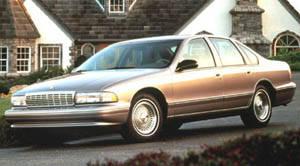 1996 Chevrolet Caprice | Specifications - Car Specs | Auto123