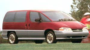 chevrolet lumina-van Base