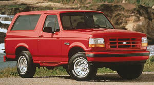 ford bronco XL