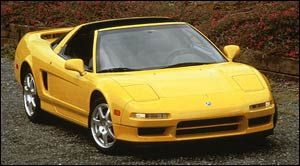 acura nsx-t Manual