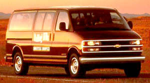 chevrolet express Long Wheelbase