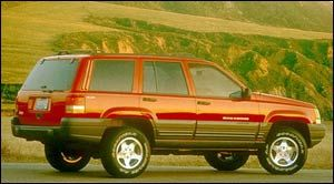 1997 jeep grand cherokee weight
