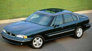 pontiac bonneville 1995 fuel capacity