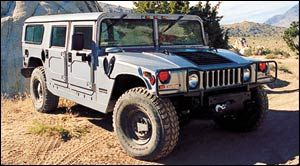 am-general hummer Hard Top, Enlarged Cab